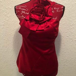 Karen Millen Classy Rose Elegant Top